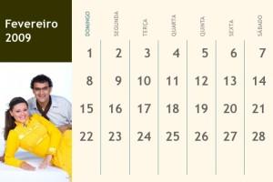 Calendario Mensal
