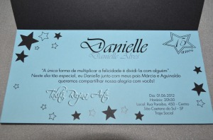 CA01 Convite Aniversario 15 anos Estrela . 4