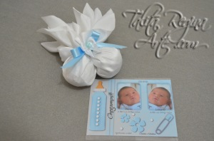 LN05 - Lembrança Maternidade Nascimento - Sache - Gemeos 4
