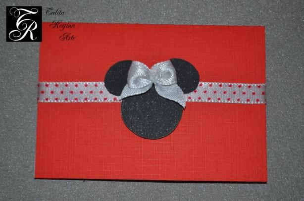 Convite Minnie Vermelha CAI03.b
