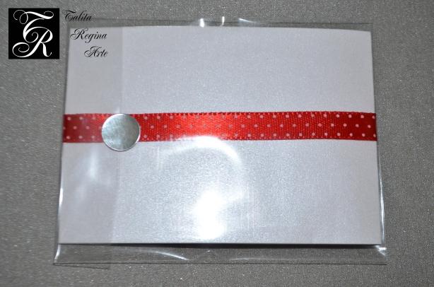Convite Minnie Vermelha CAI04.a