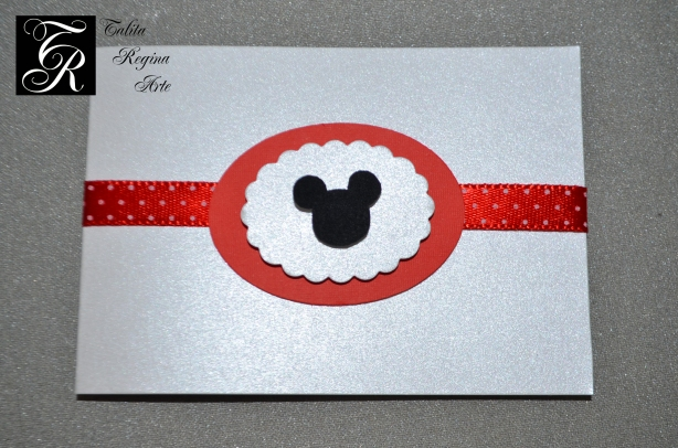 Convite Minnie Vermelha CAI04.b