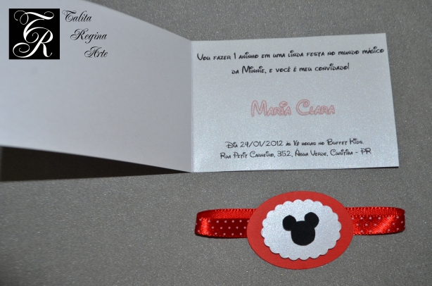 Convite Minnie Vermelha CAI04.d