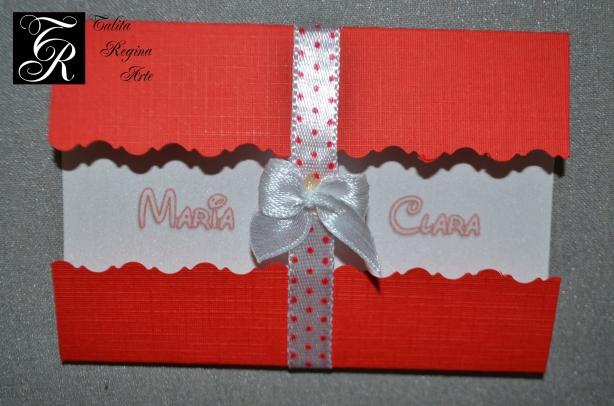 Convite Minnie Vermelha CAI05.b