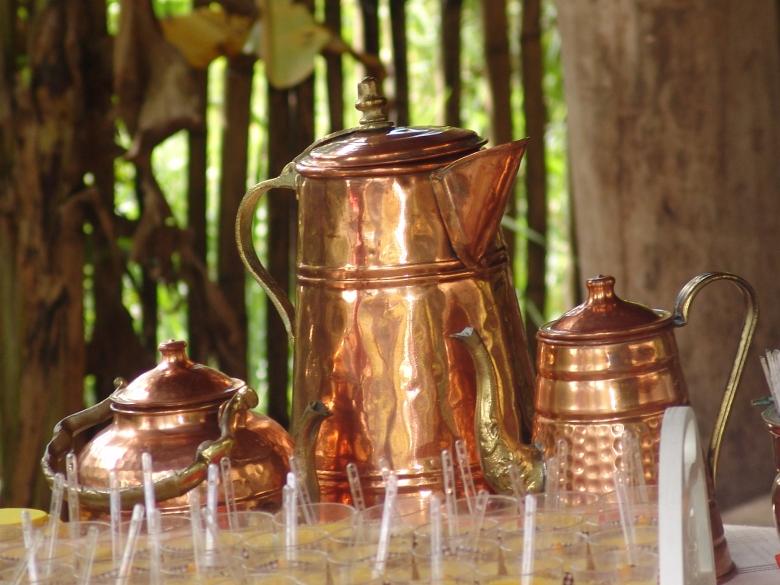Peças do Jogo Decorativo de Bronze