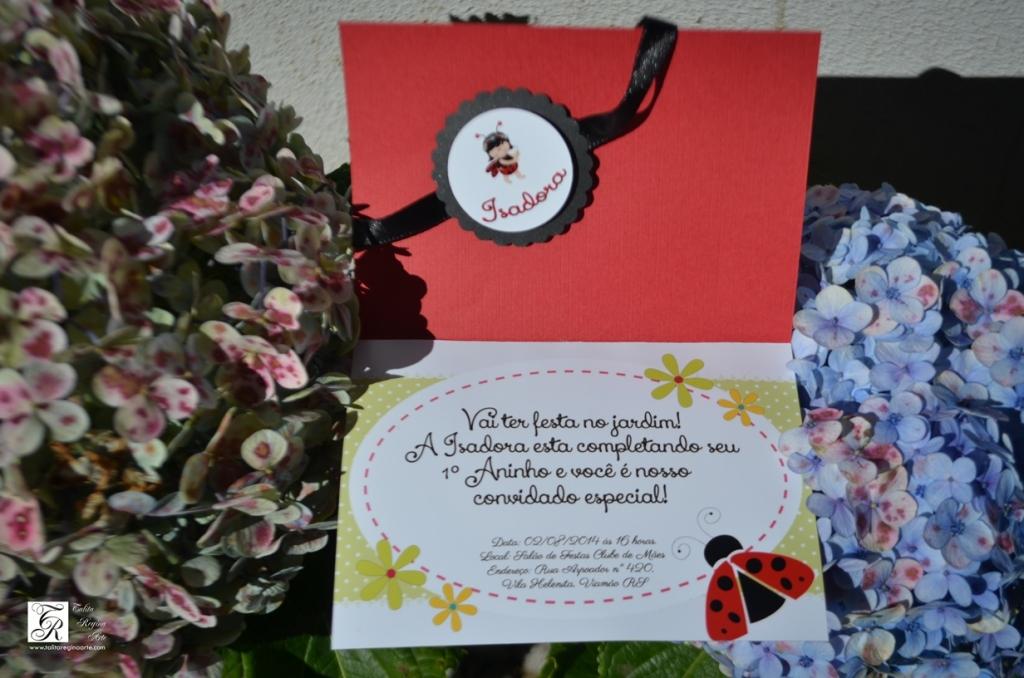 Convite Joaninha ou Jardim Encantado-3