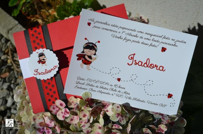 Convite Joaninha ou Jardim Encantado-8