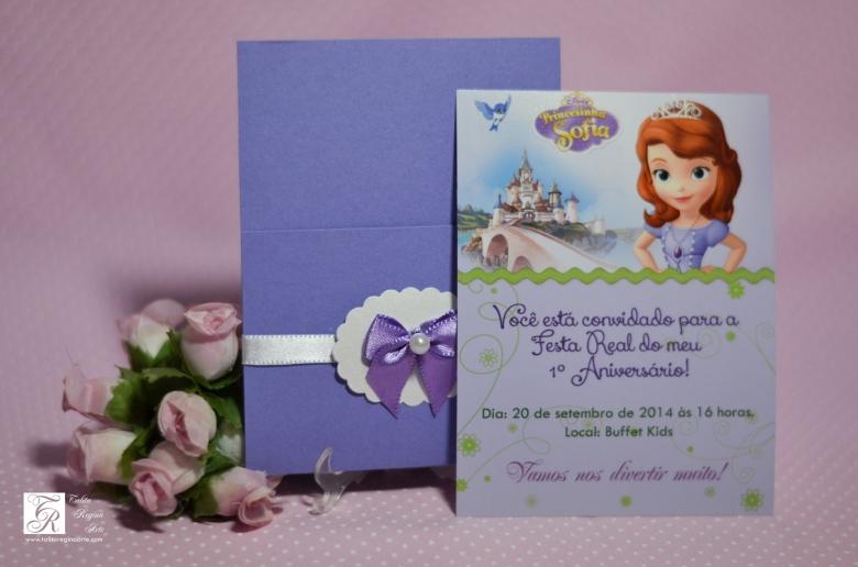 Convite Princesa Sofia - diferente-10