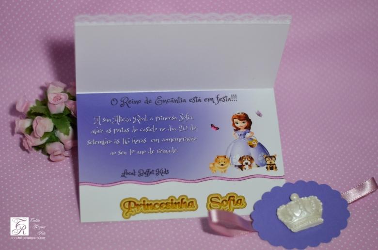 Convite Princesa Sofia - diferente-19