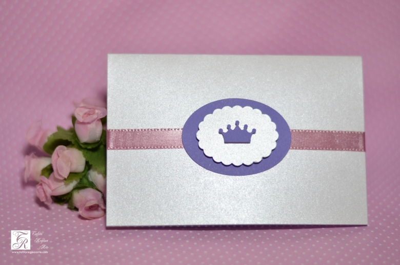 Convite Scrap Coroa