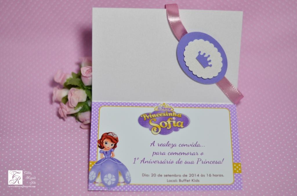 Convite Princesa Sofia - diferente-31