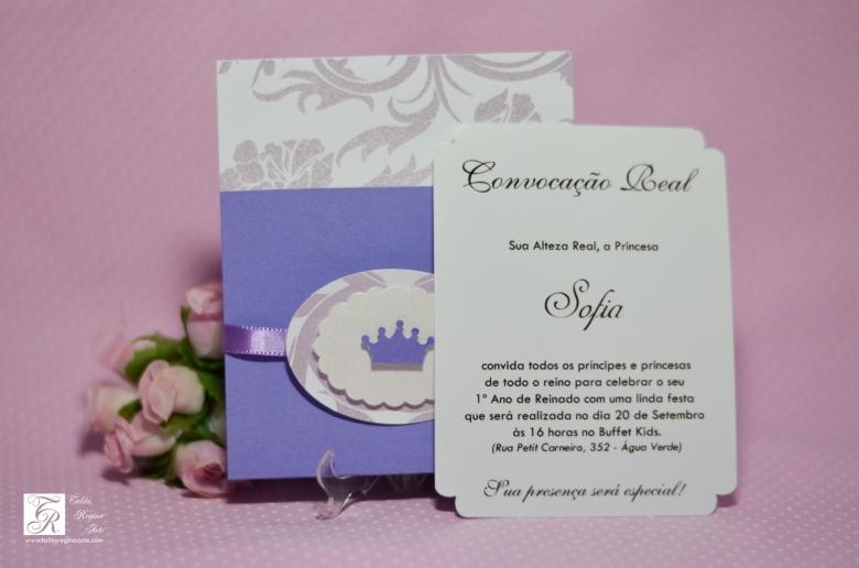 Convite Princesa Sofia - diferente-4