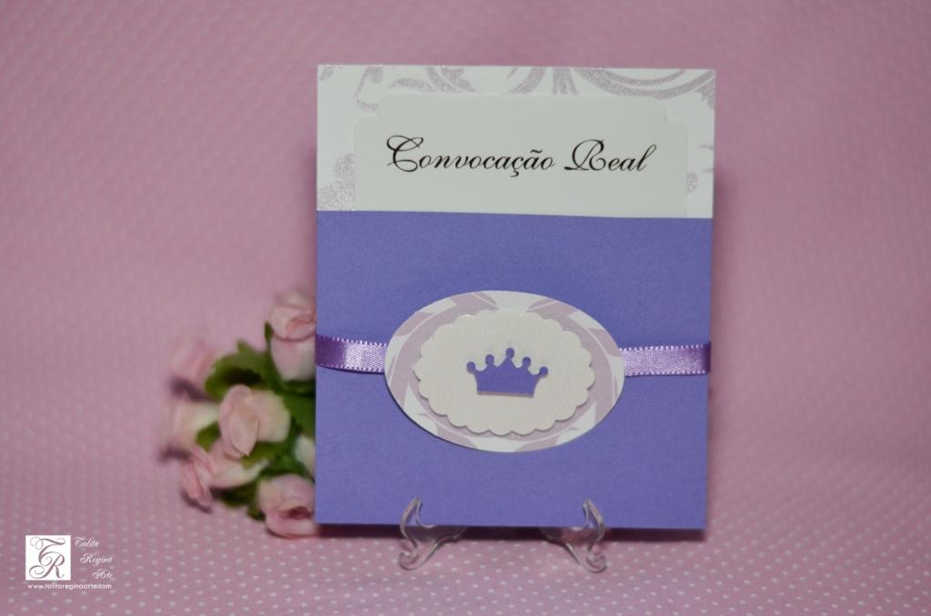 Convite Princesa Sofia - diferente-7