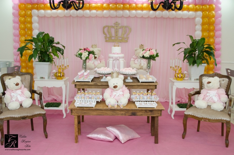 Festa Personalizada Ursinha Coroa - DSC_0063