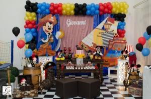 Festa Mickey Pirata